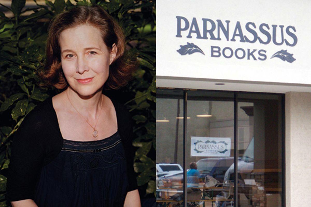Ann Patchett and Parnassus Books.   (<a href='http://www.annpatchett.com/'>annpatchett.com</a>/Salon)