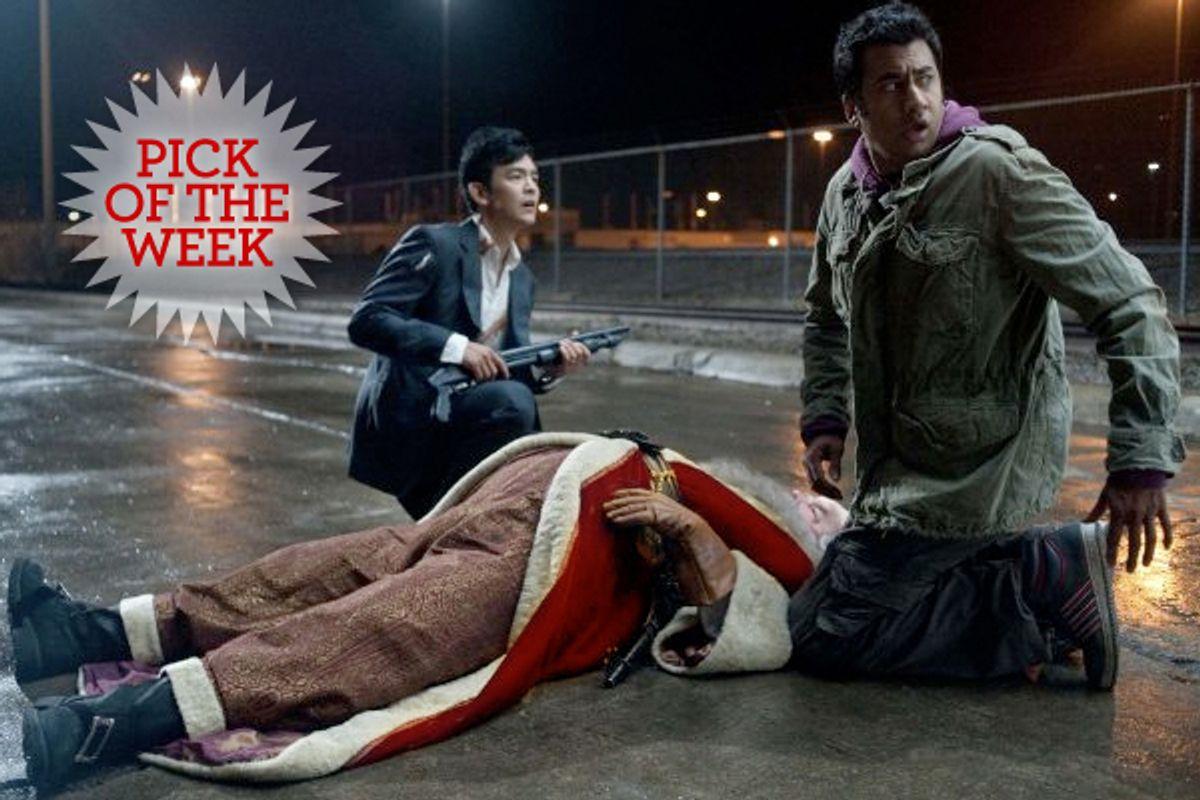 "John Cho and Kal Penn in ""A Very Harold and Kumar 3D Christmas"""