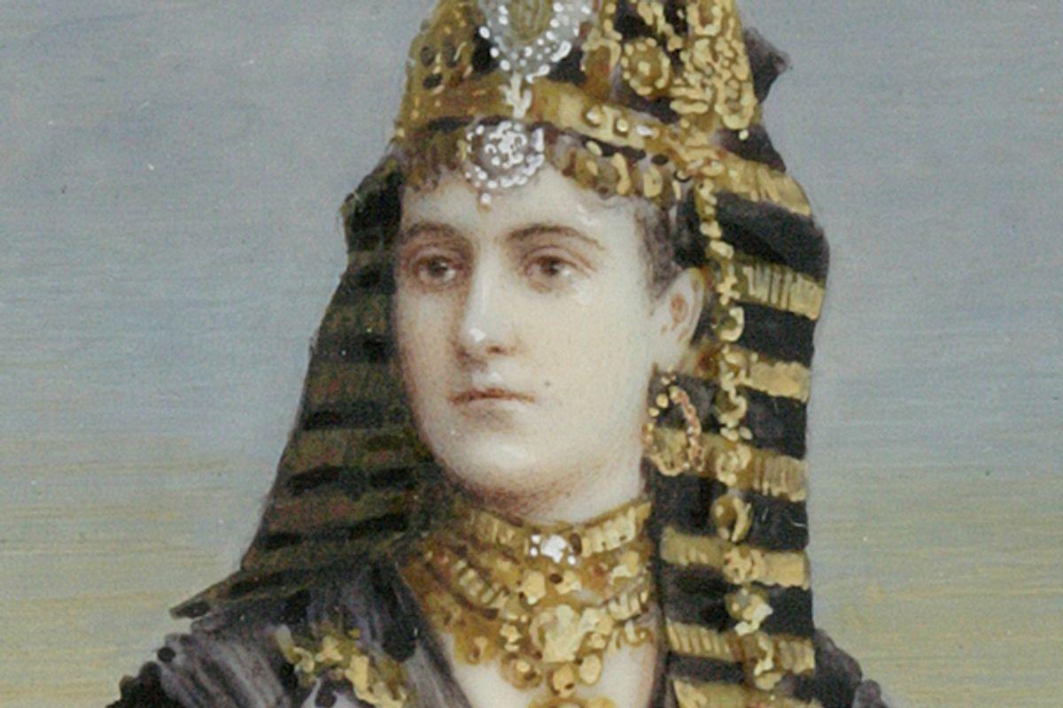 Mrs. Arthur Henry Paget (Mary Fiske Stevens, 1853-1919) dressed as Cleopatra, 1891. (New-York Historical Society)