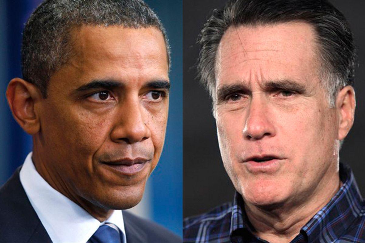 President Barack Obama and Mitt Romney                       (AP)