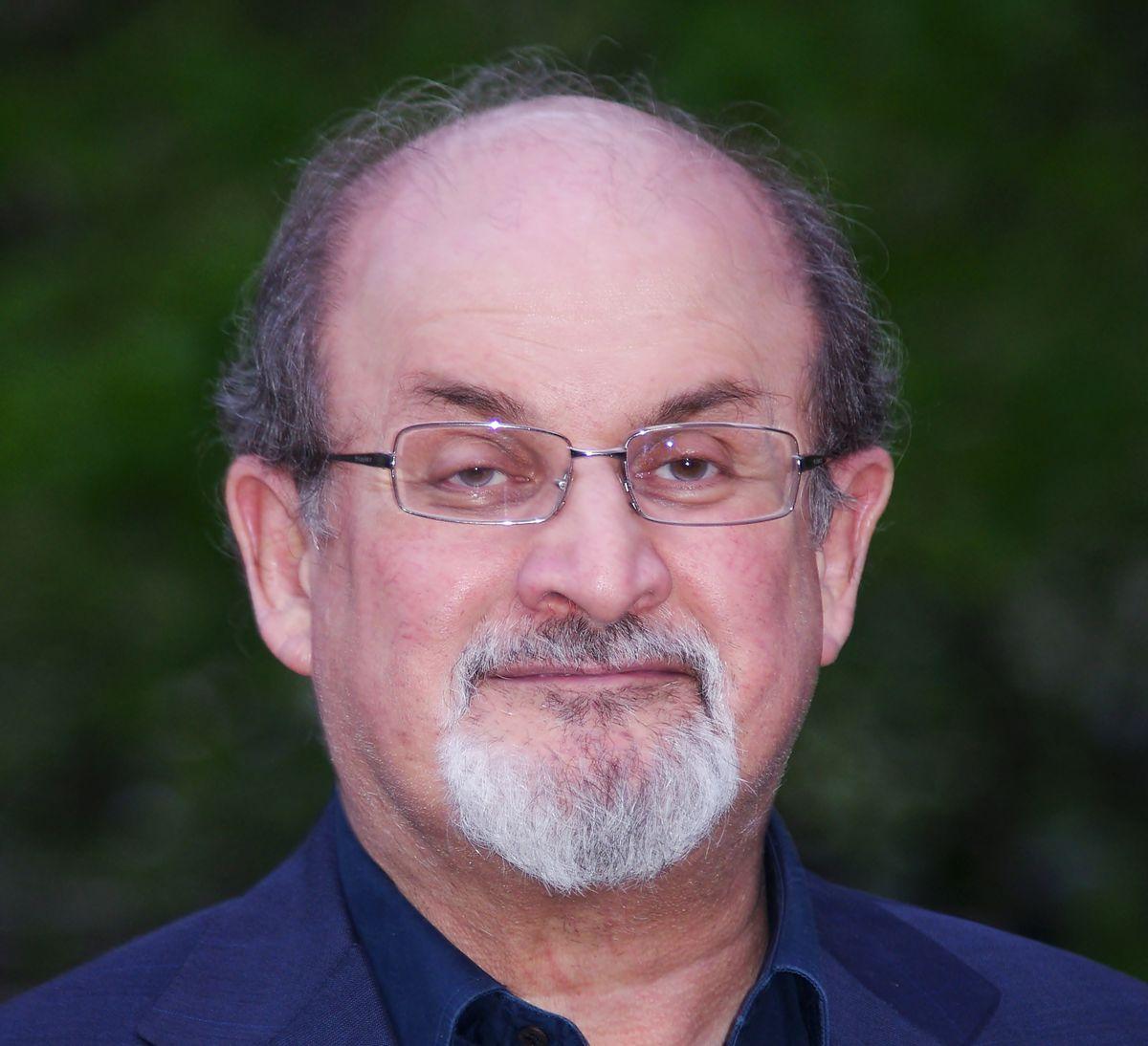 Salman Rushdie.      (David Shankbone/Wikipedia)
