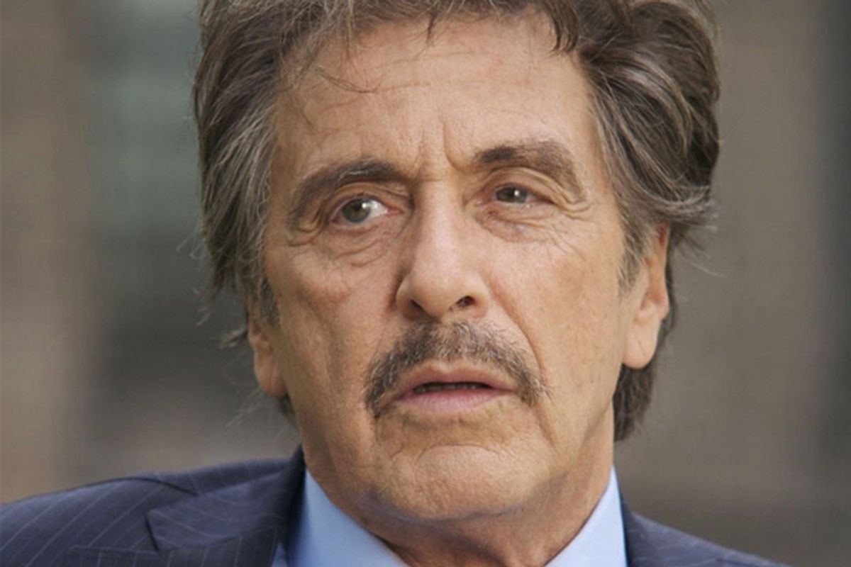 """Al Pacino in """"The Son of No One"""""""