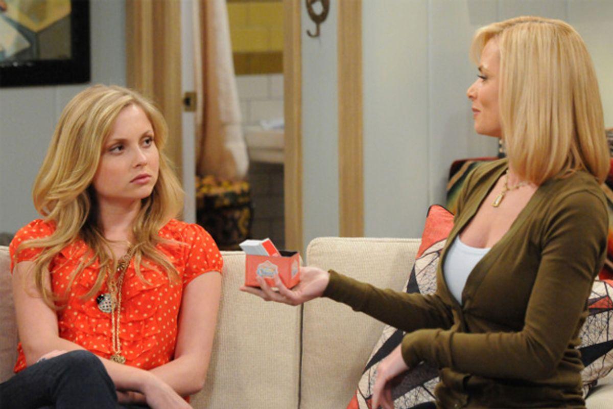 """Kristi Lauren and Jamie Pressley in """"I Hate My Teenage Daughter"""""""