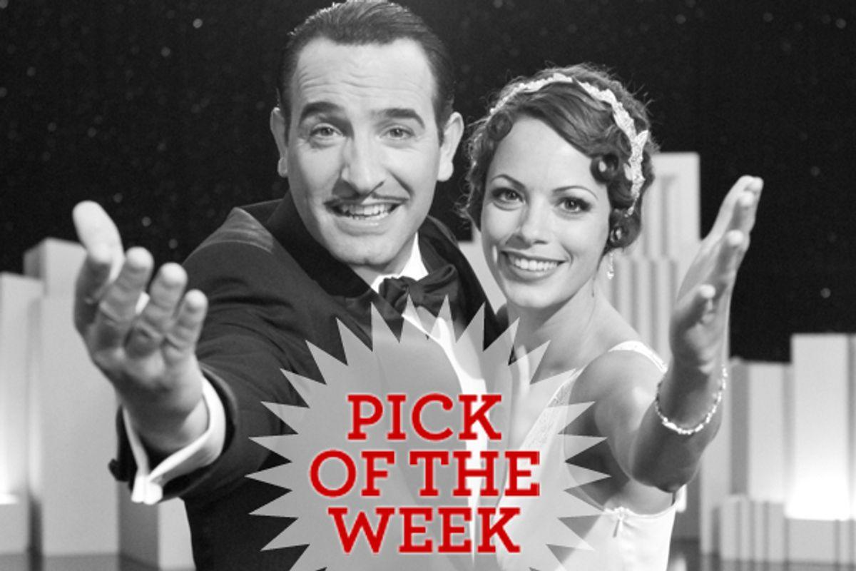 "Jean Dujardin and Bérénice Bejo in ""The Artist"""