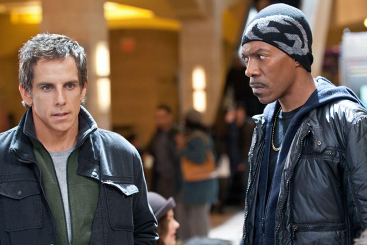 """Ben Stiller and Eddie Murphy in """"Tower Heist"""""""