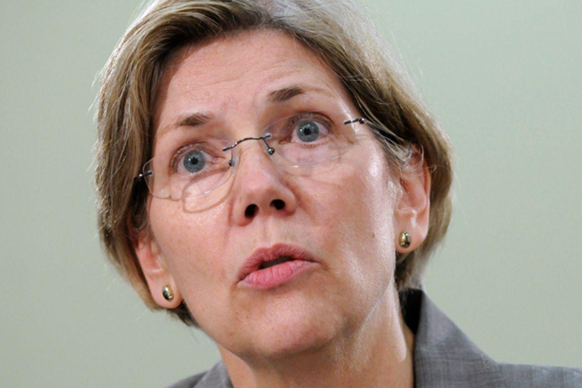 Elizabeth Warren         (Jonathan Ernst / Reuters)