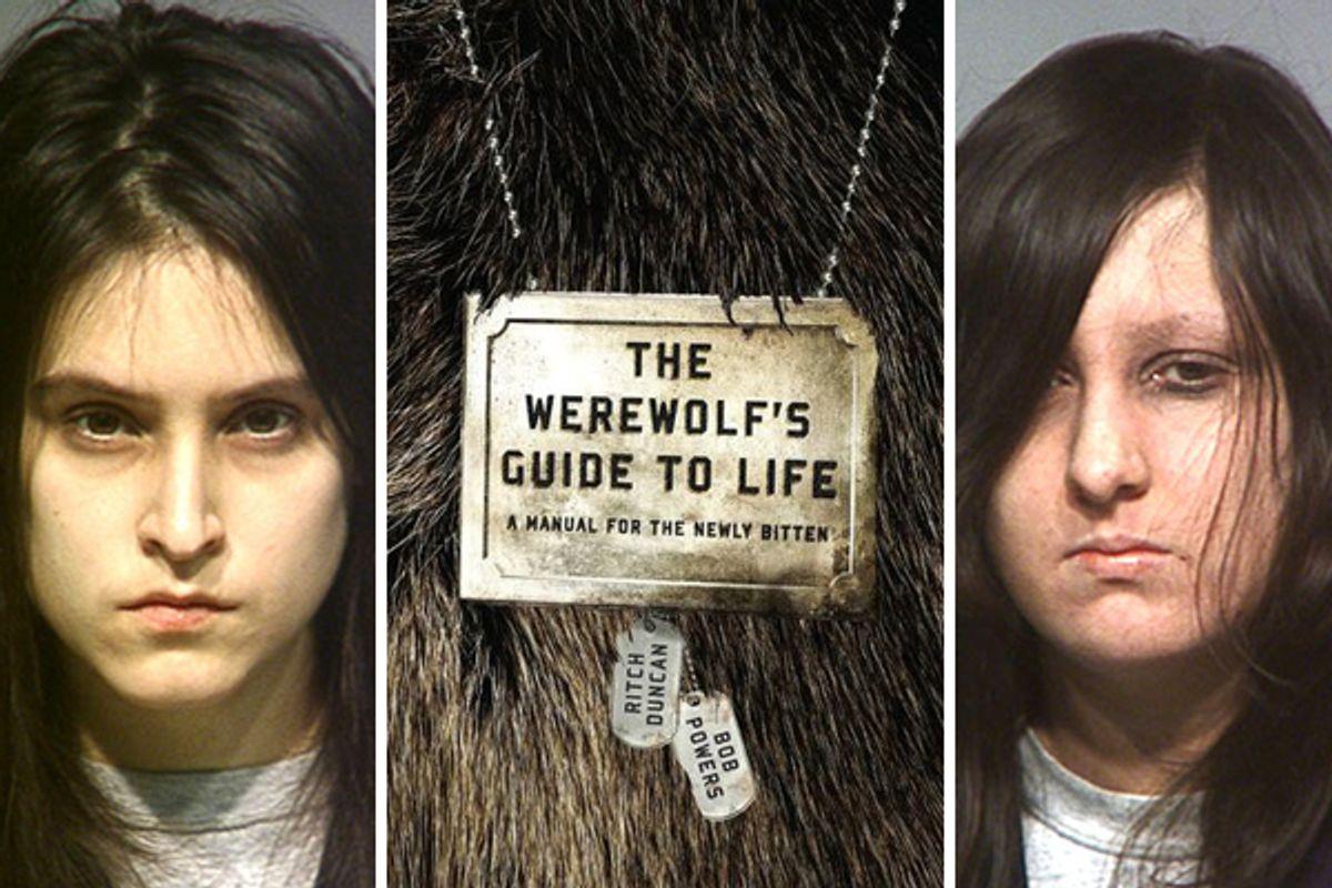"Left, Rebecca Chandler (left) and right, Raven ""Scarlett"" Larrabee  (<a href=""http://www.thesmokinggun.com/documents/milwaukee-satanic-ritual-657329"">thesmokinggun.com</a>)"