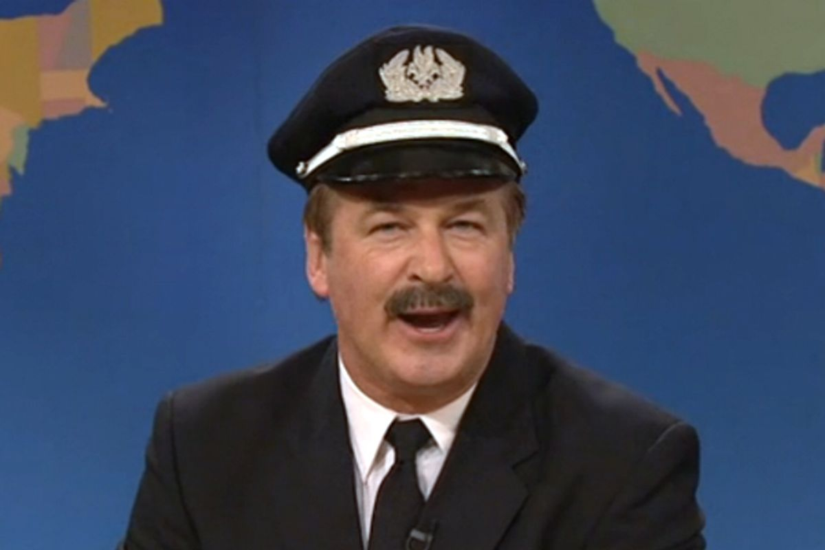 "Alec Baldwin on ""Saturday Night Live""      (NBC screen shot)"