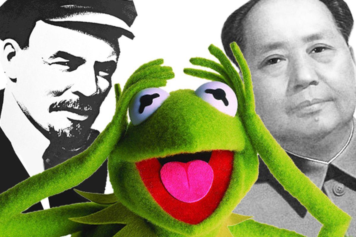 Vladimir Lenin, Kermit the Frog and Chairman Mao