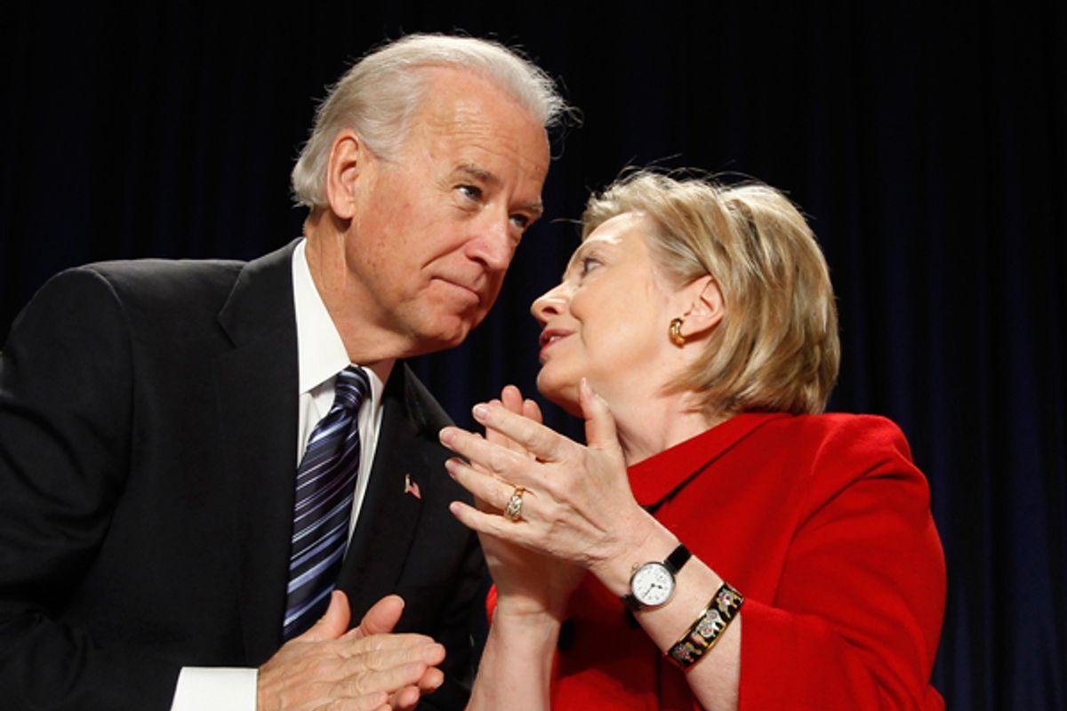 Joe Biden and Hillary Clinton      (AP/Jason Reed)