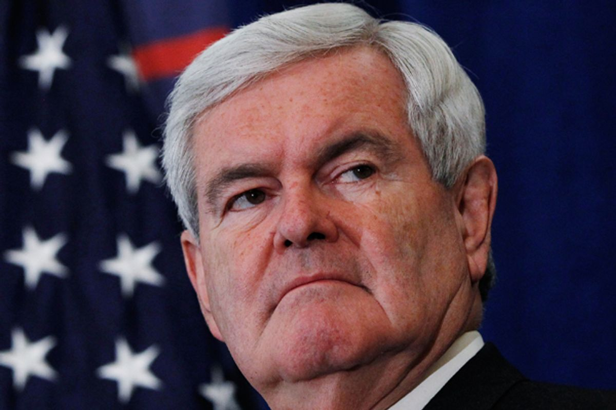 Newt Gingrich     (Reuters/Shannon Stapleton)