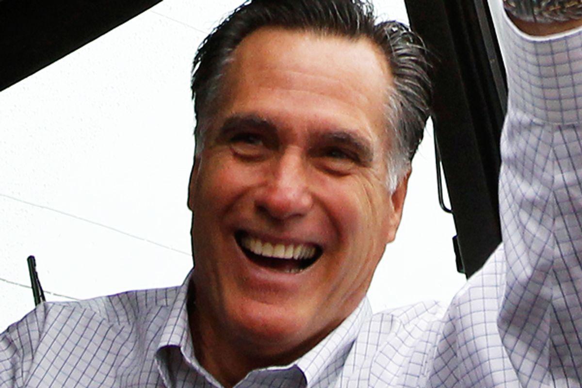 Mitt Romney        (Reuters/Jim Young)