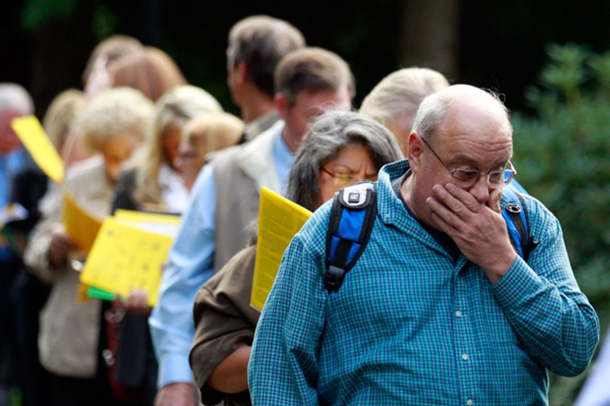 Down and out      (AP/Rick Bowmer)