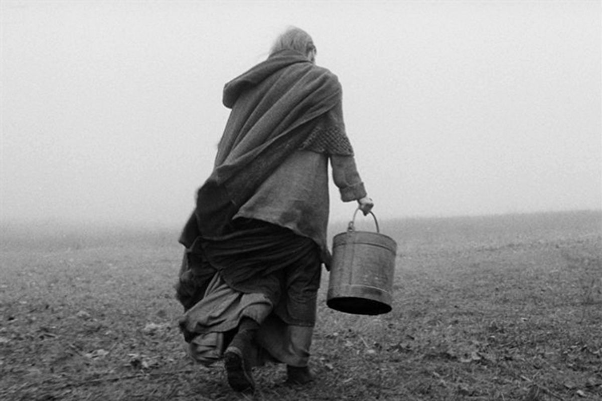 """A scene from """"The Turin Horse"""""""