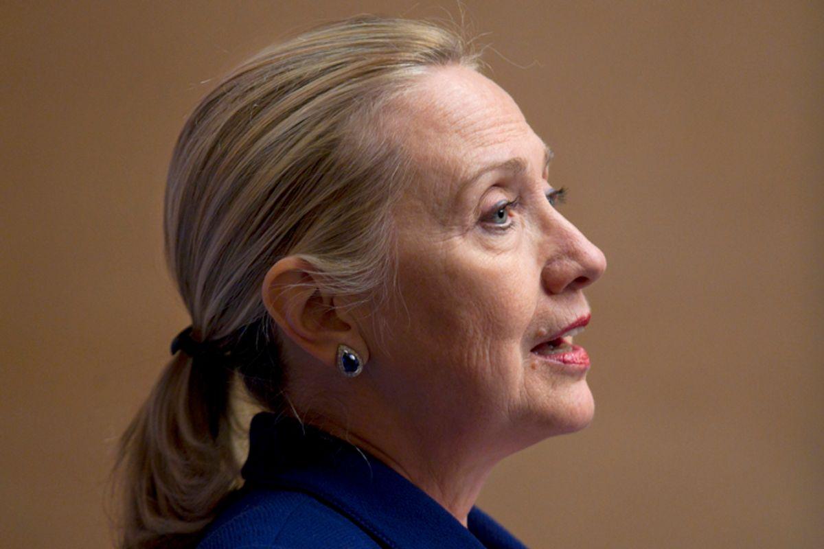 U.S. Secretary of State Clinton     (Reuters)