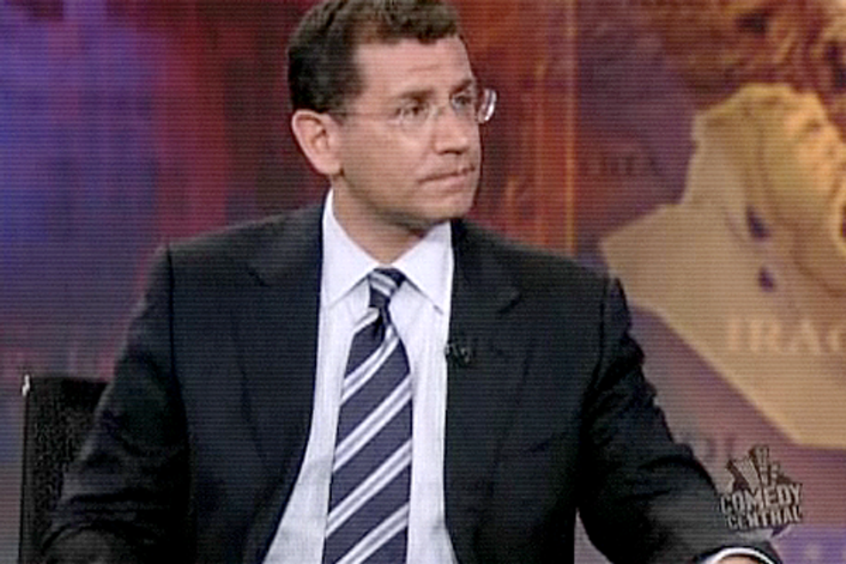 """Kenneth Pollack: one Mideast war was enough     (<a href=""""http://www.thedailyshow.com/watch/wed-july-16-2008/kenneth-pollack"""">The Daily Show</a>)"""