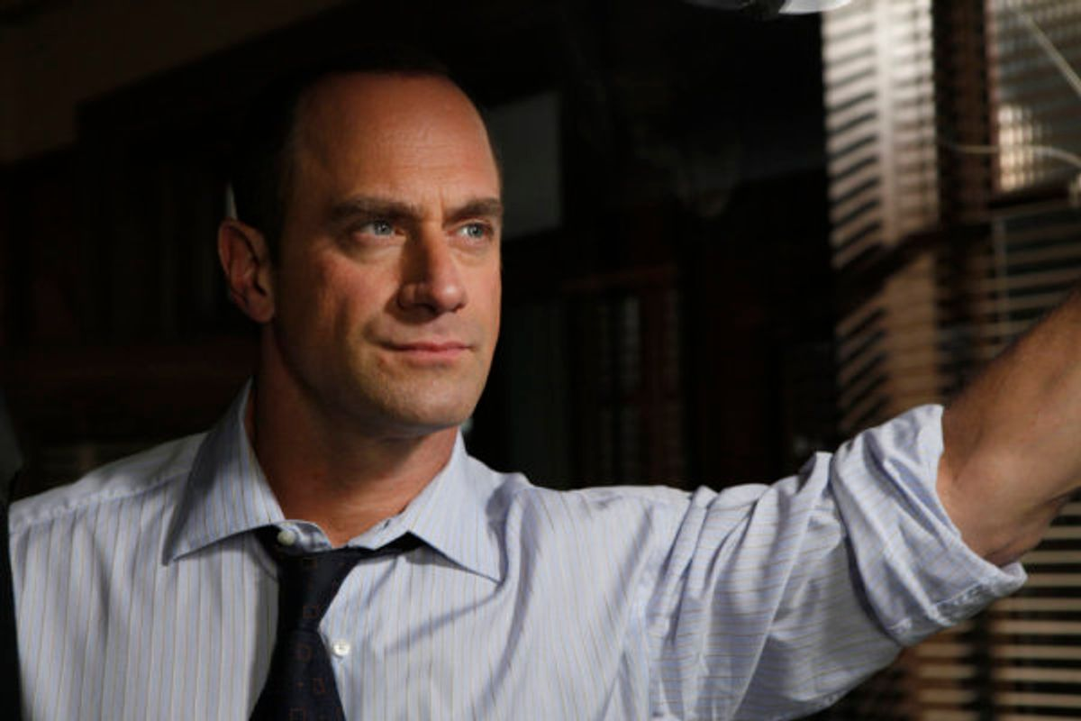 Christopher Meloni as Detective Elliot Stabler        (NBC/Will Hart)