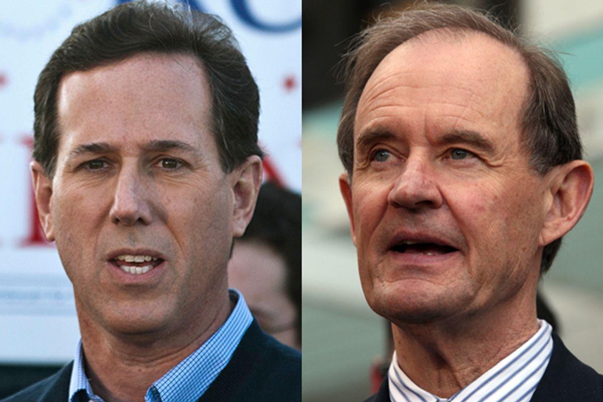 Rick Santorum and David Boies        (Reuters)