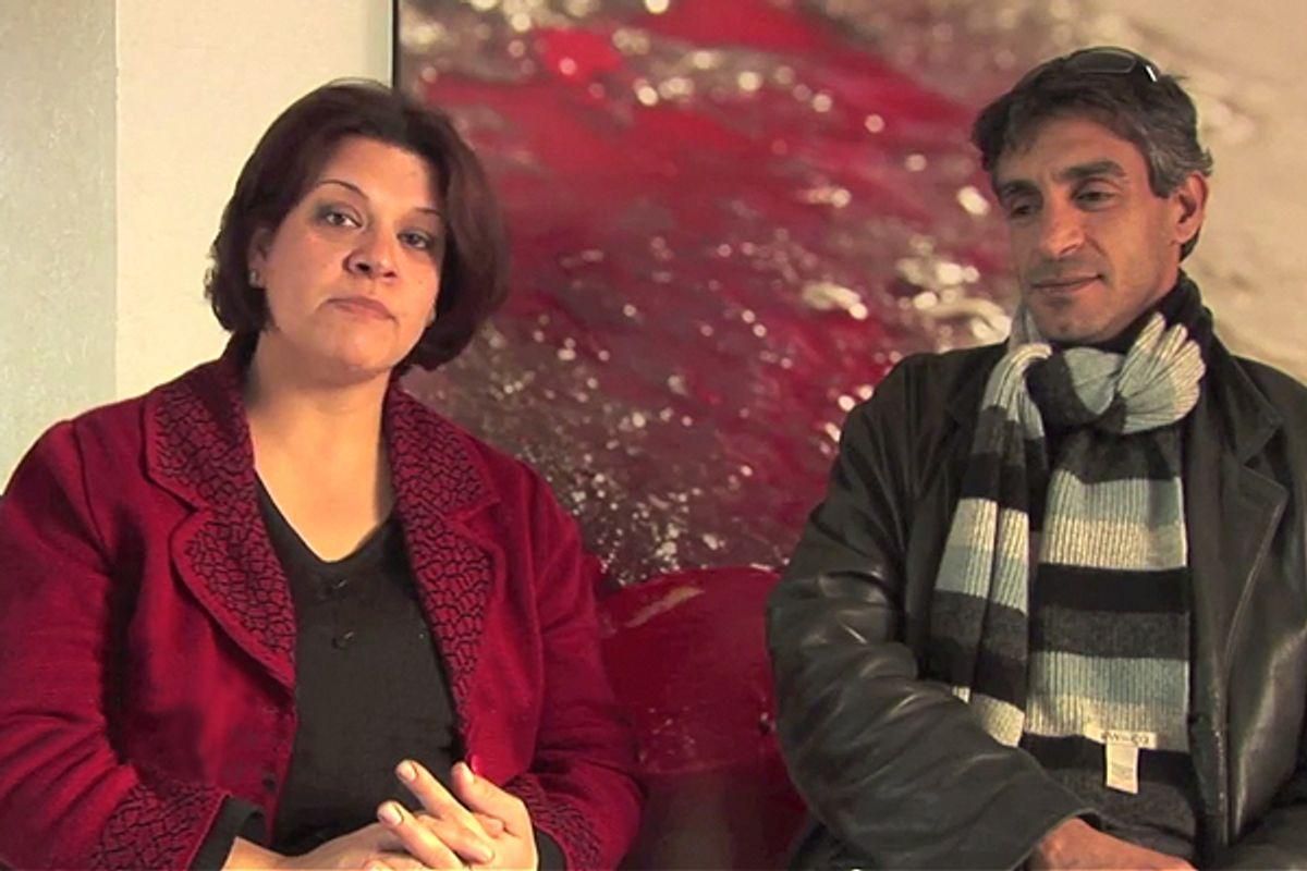 Taiseer Khatib and his wife, Lana
