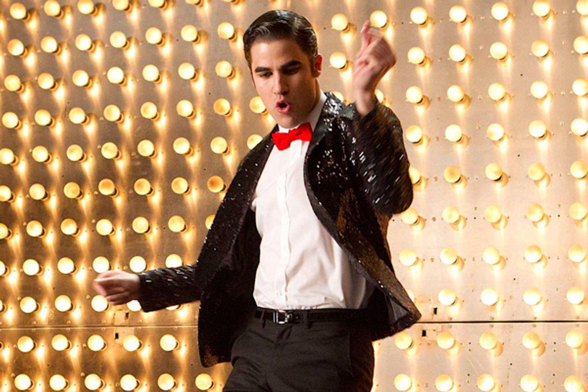 "Darren Criss in ""Glee"""
