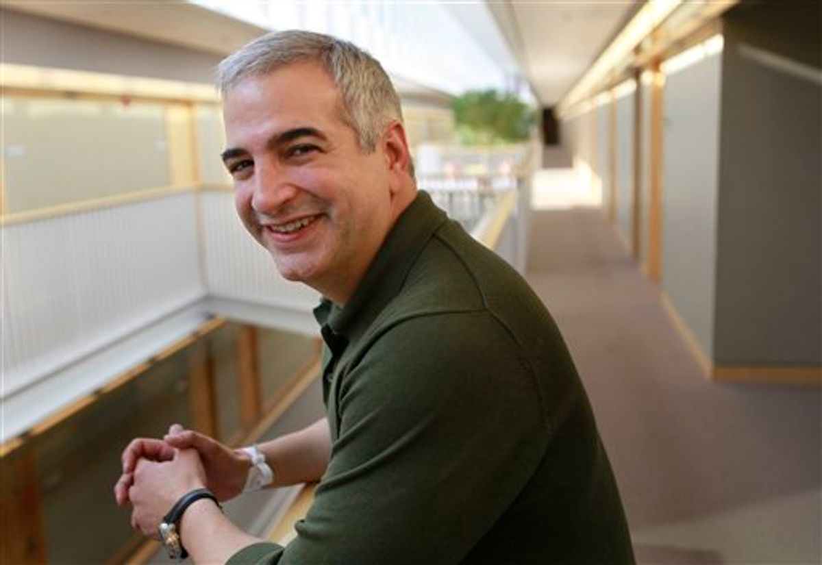 Anthony Shadid, winner of the 2010 Pulitzer Prize for International Reporting with The Washington Post     (AP)