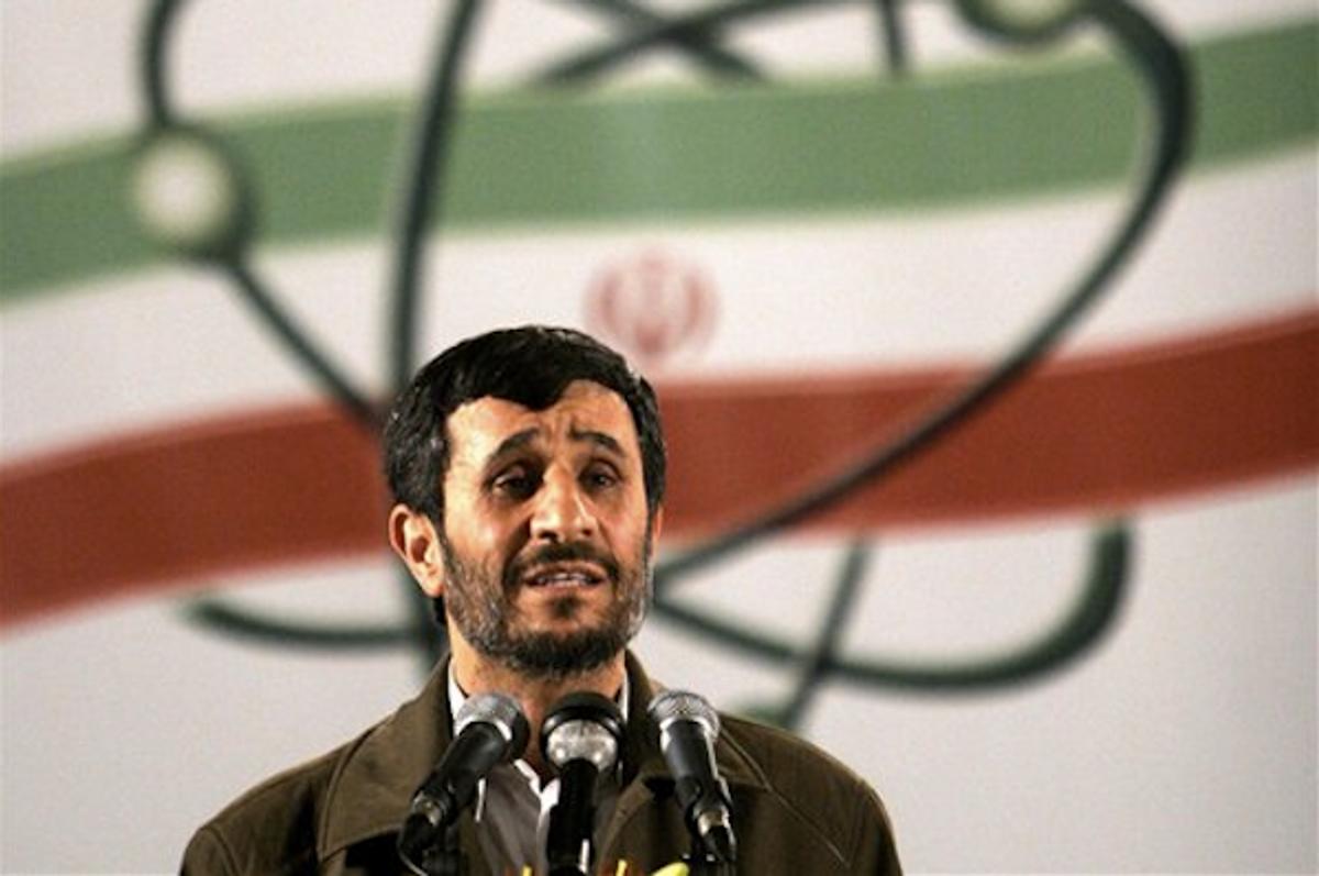 Iranian President Mahmoud Ahmadinejad      (AP Photo/Hasan Sarbakhshian)