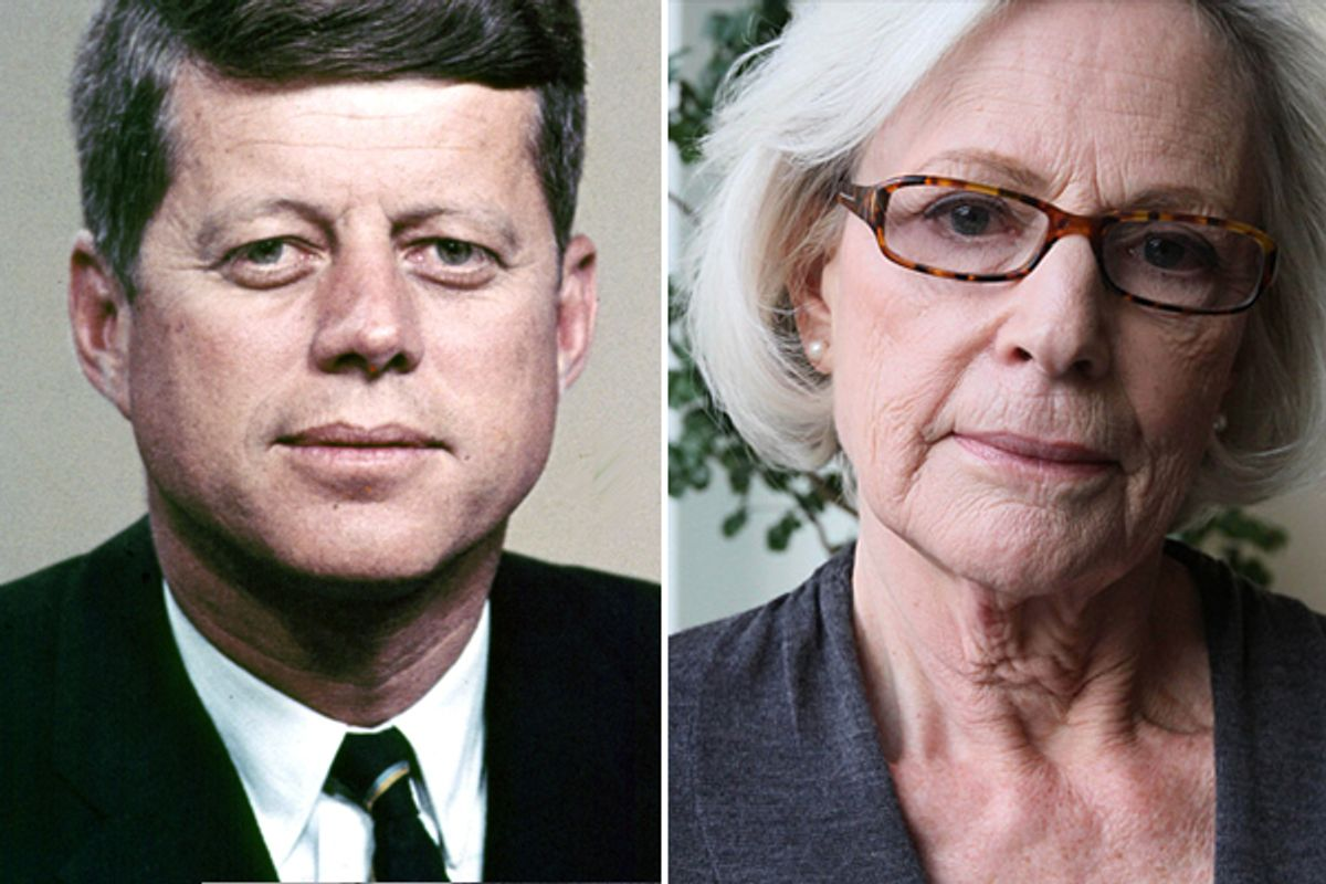 John F. Kennedy and his one-time girlfriend Mimi Alford    (AP/AP/Tina Fineberg)