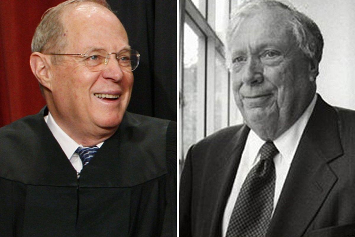 Judges Anthony Kennedy and Steven Reinhardt     (AP/Charles Dharapak/Stephanie Turner)