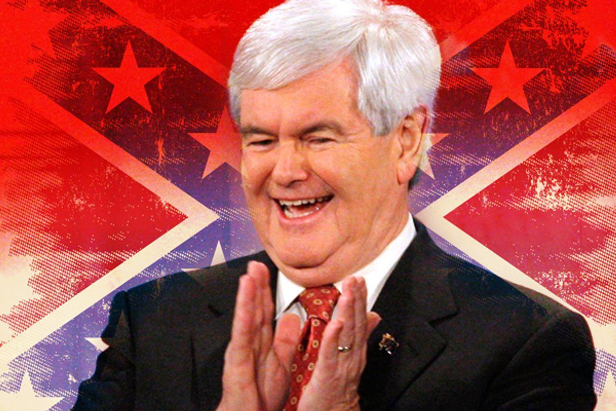 Newt Gingrich       (Reuters/Scott Audette/<a href='http://www.shutterstock.com/gallery-201133p1.html'>Christophe Boisson</a> via <a href='http://www.shutterstock.com/'>Shutterstock</a>)