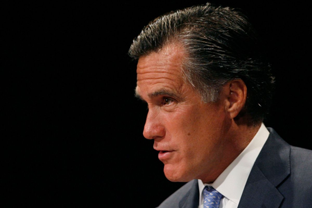 Mitt Romney in August, 2006   (AP/Matt Sayles)