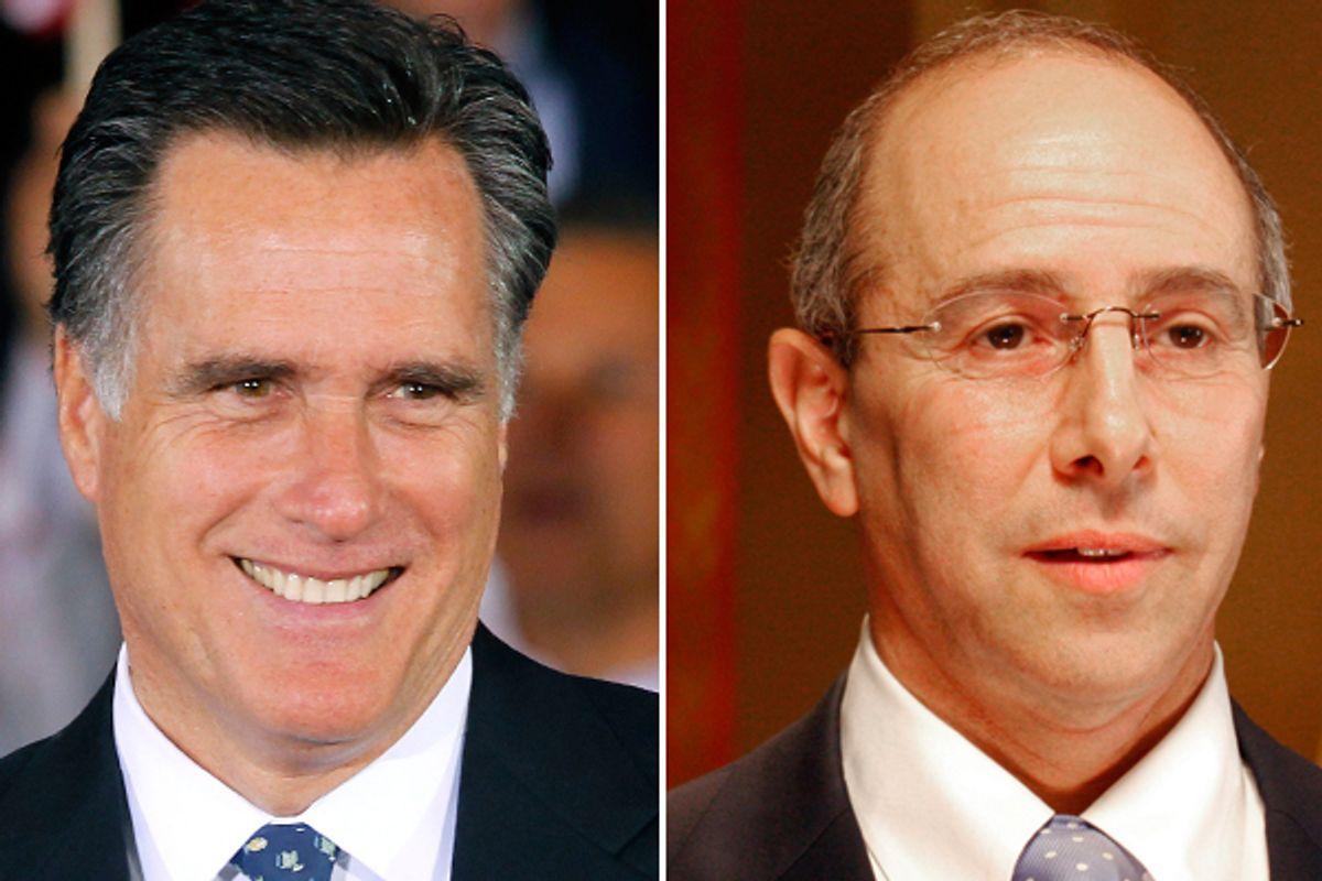 Mitt Romney and Charles Boustany       (AP)