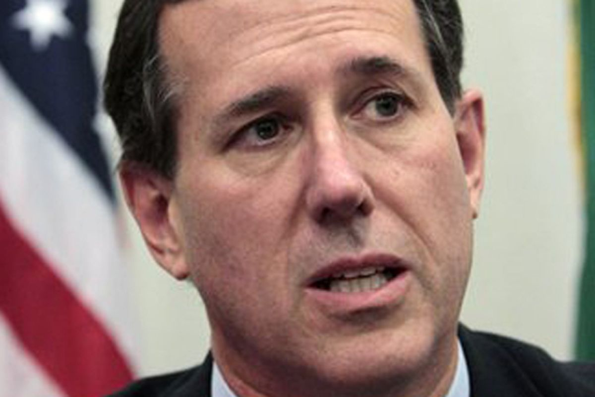 Rick Santorum  (AP/Elaine Thompson)