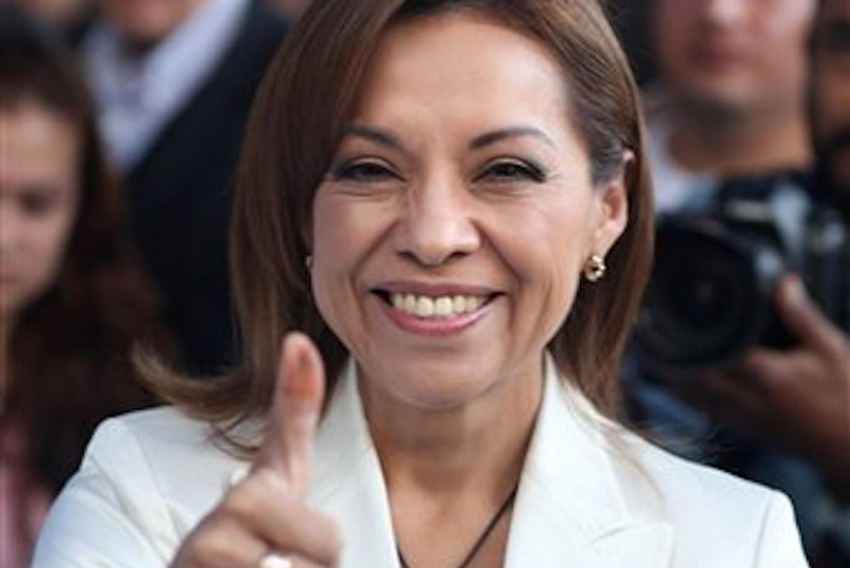 Josefina Vasquez Mota      (AP Photo/Alexandre Meneghini)