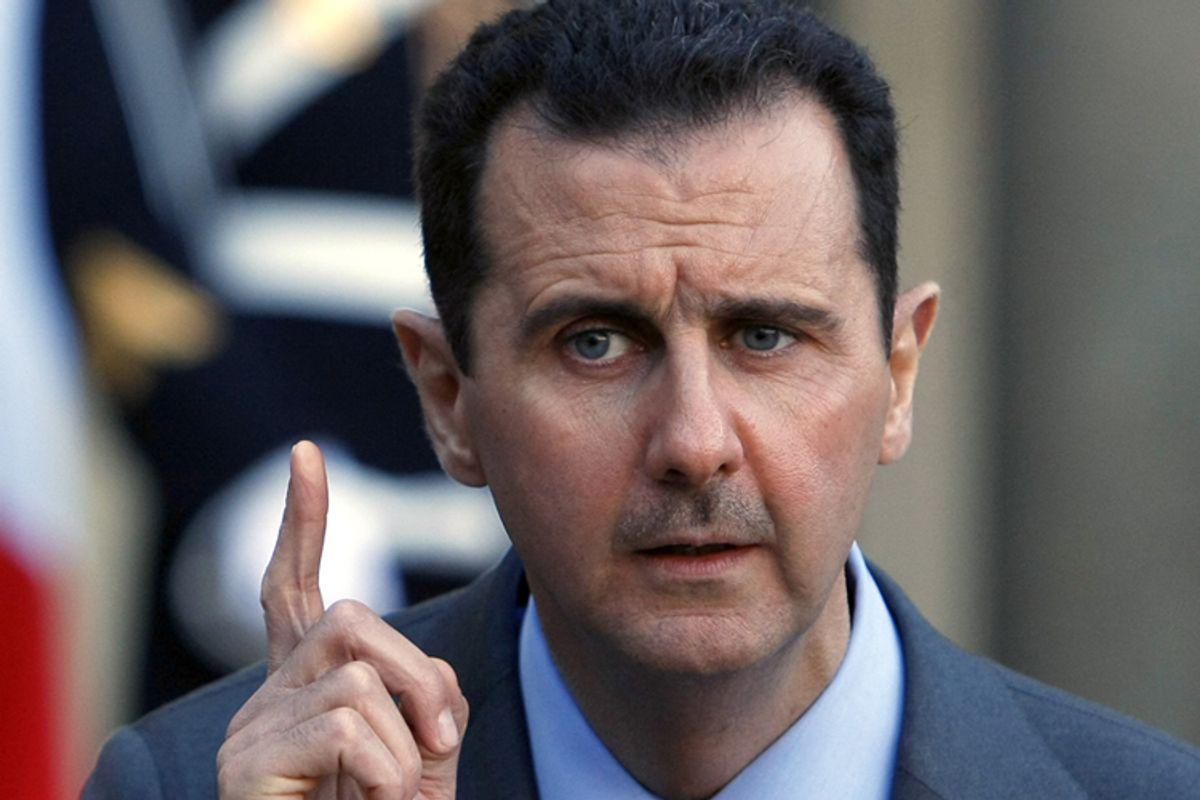 Syria President Bashar al-Assad                              (AP)