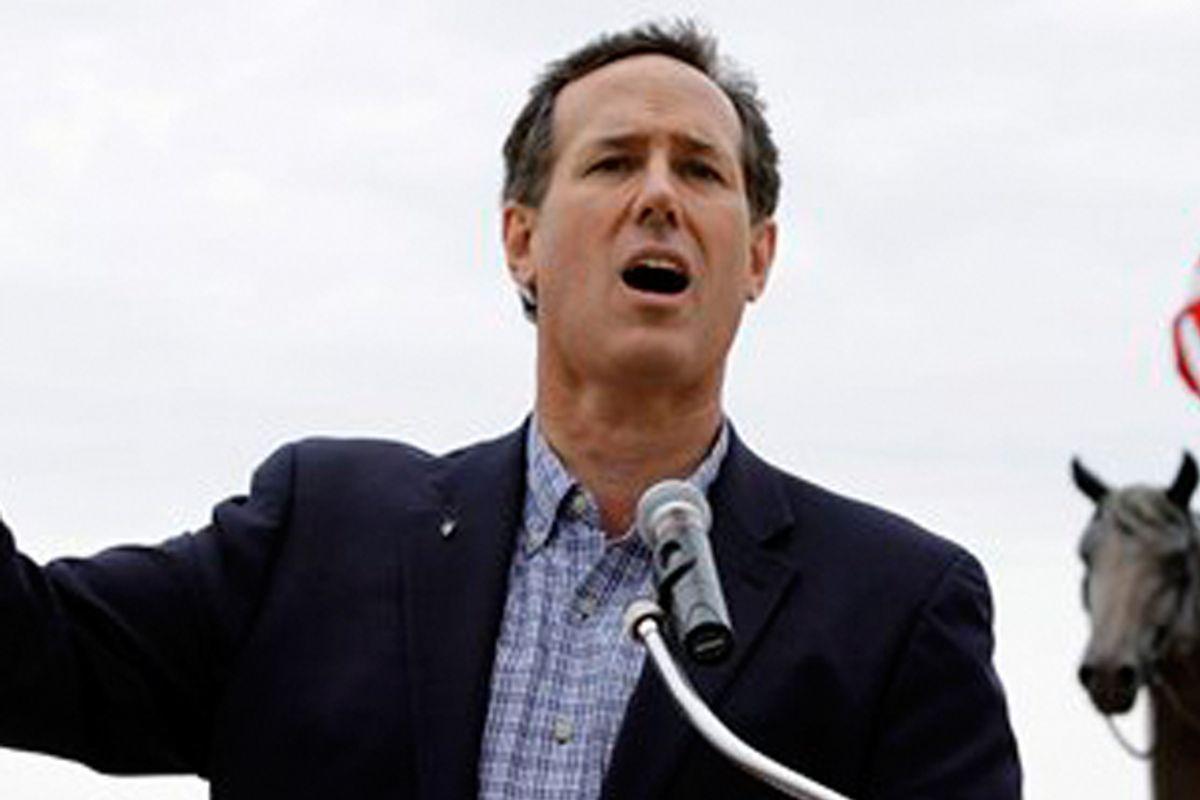 Rick Santorum     (AP)