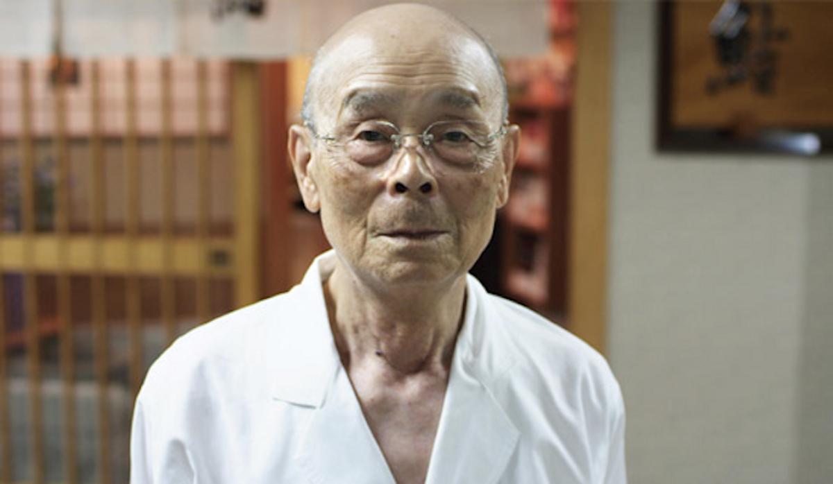 """Jiro Ono in """"Jiro Dreams of Sushi""""       (Courtesy of Magnolia Pictures)"""