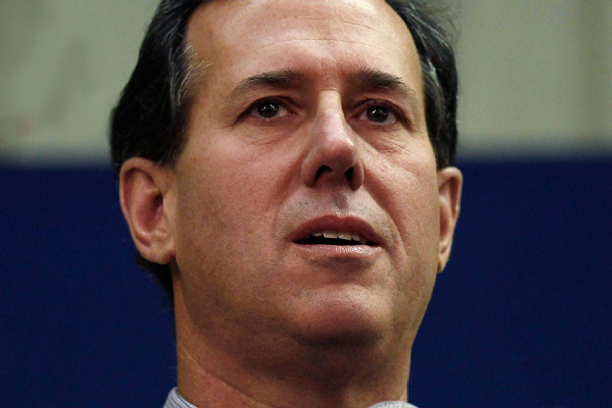 Rick Santorum  (Reuters/Jim Young)