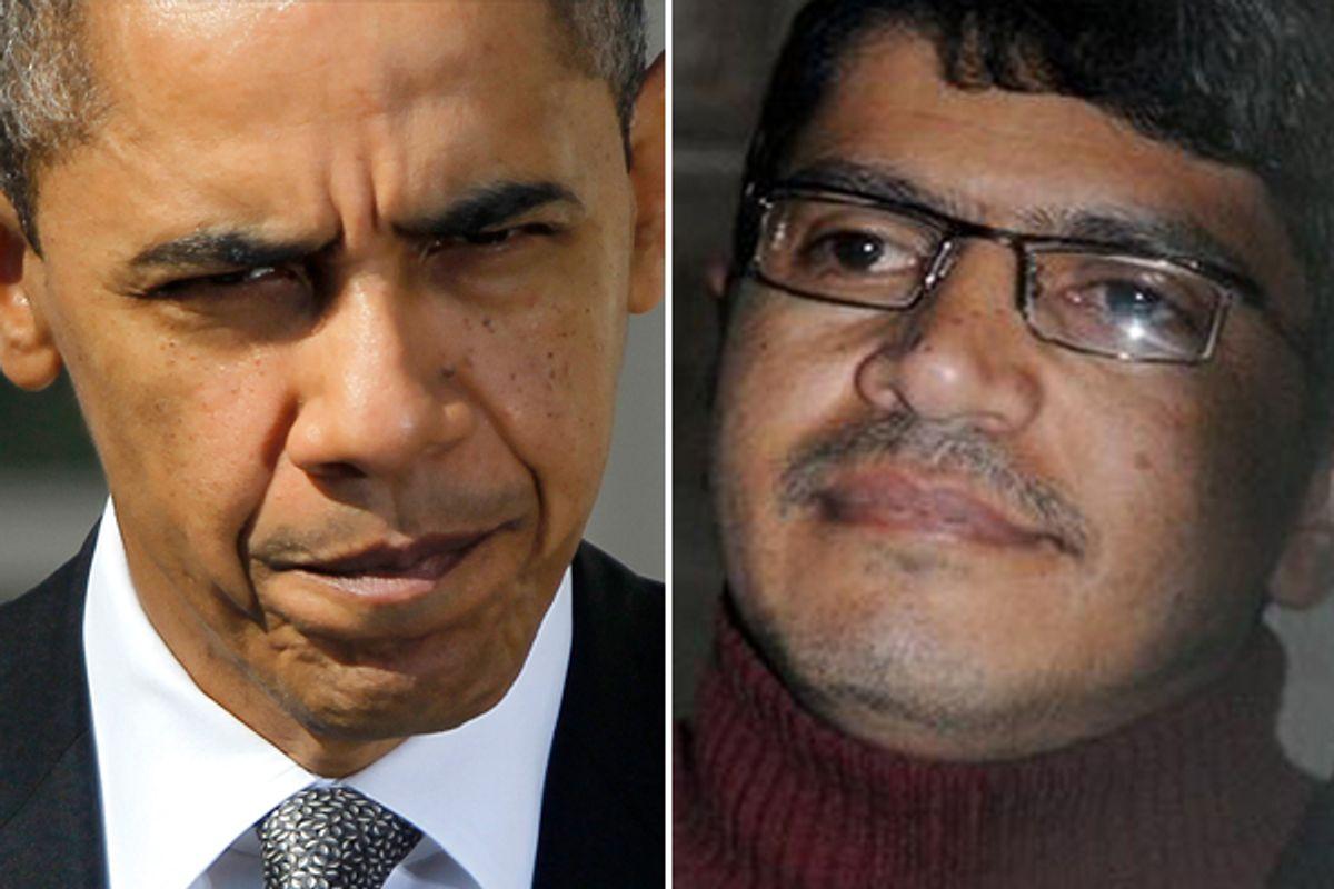 President Obama and Abdulelah Haider Shaye   (AP)