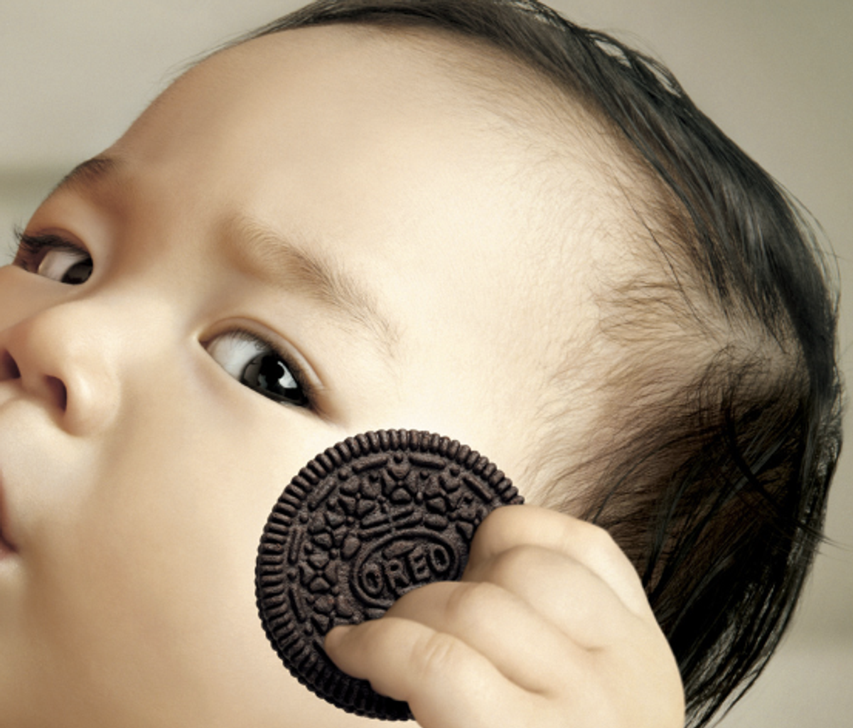 Detail from Oreo ad