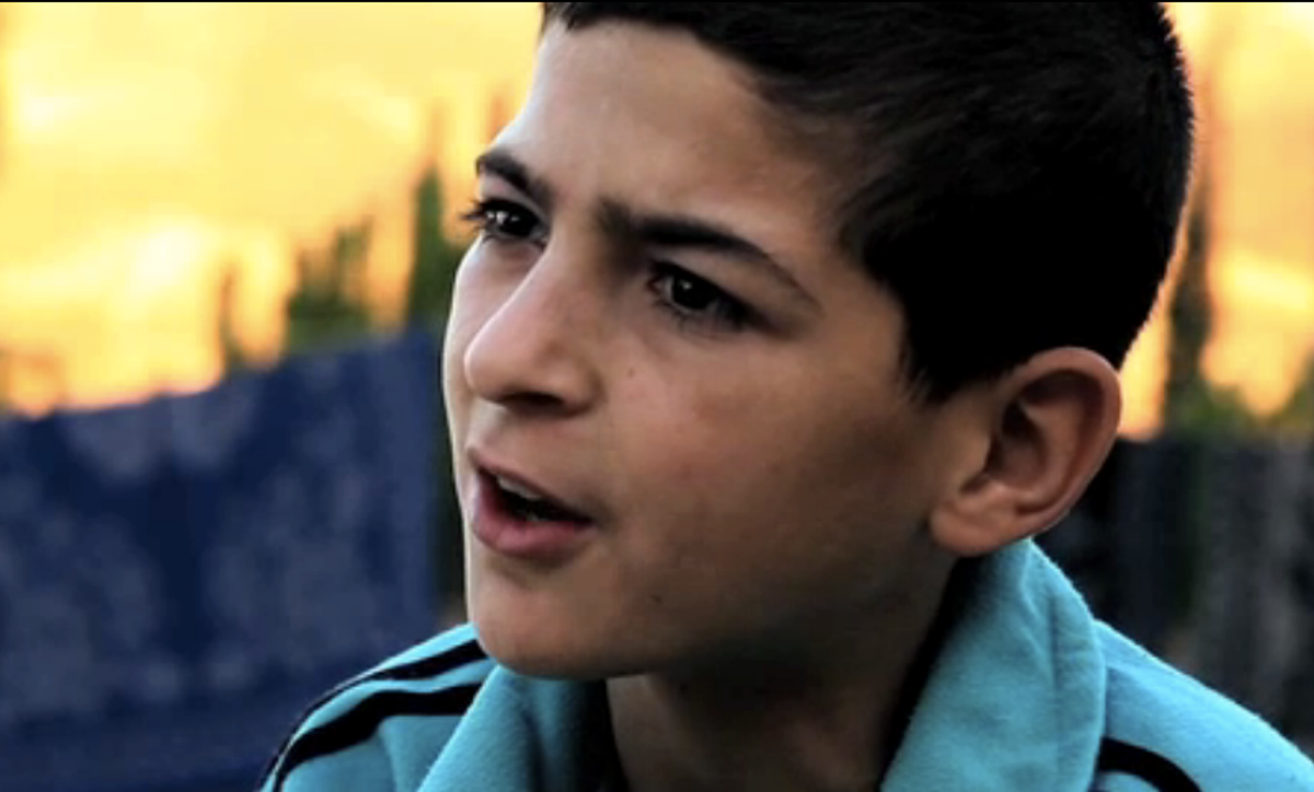 13-year-old Hossam     (Screengrab from GlobalPost video)