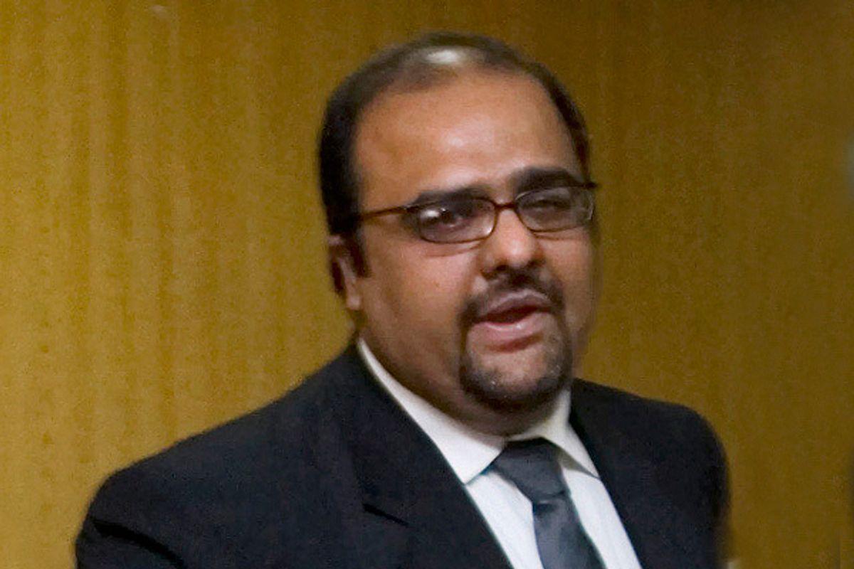 Shahzad Akbar        (AP/Anjum Naveed)
