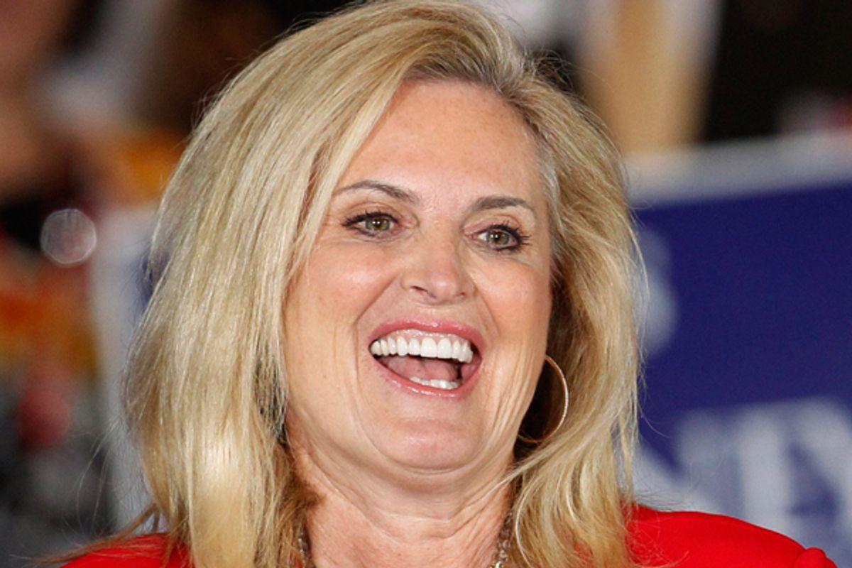 Ann Romney        (Reuters/Jeff Haynes)