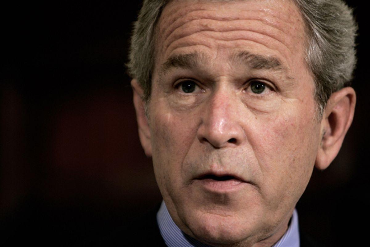 George W. Bush in 2006       (AP/Ron Edmonds)