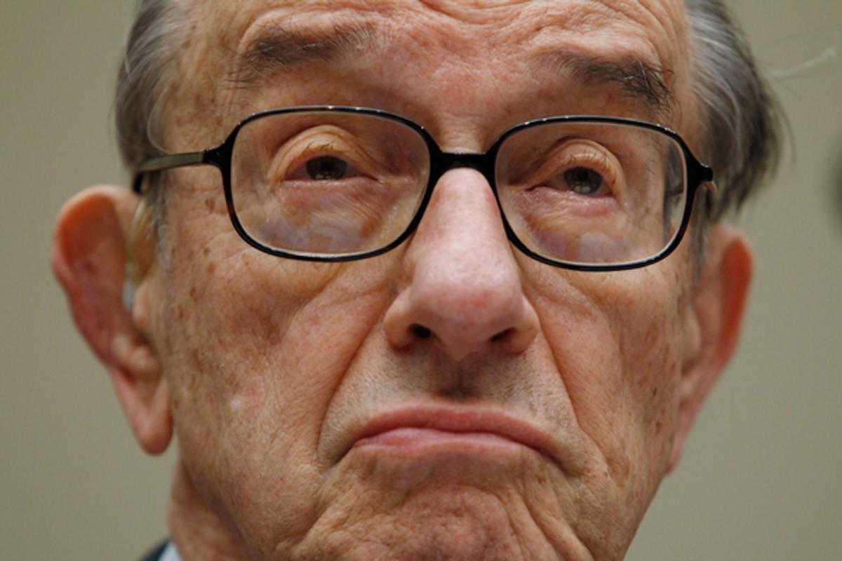 Alan Greenspan   (Reuters/Kevin Lamarque)