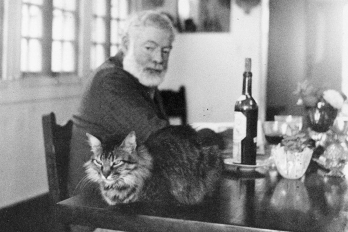 Ernest Hemingway         (<a href='http://www.jfklibrary.org/Research/The-Ernest-Hemingway-Collection/Media-Gallery.aspx'>John F. Kennedy Presidential Library & Museum</a>)