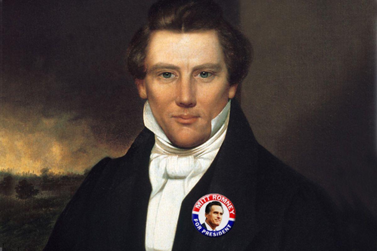 Joseph Smith     (Wikipedia/Salon)