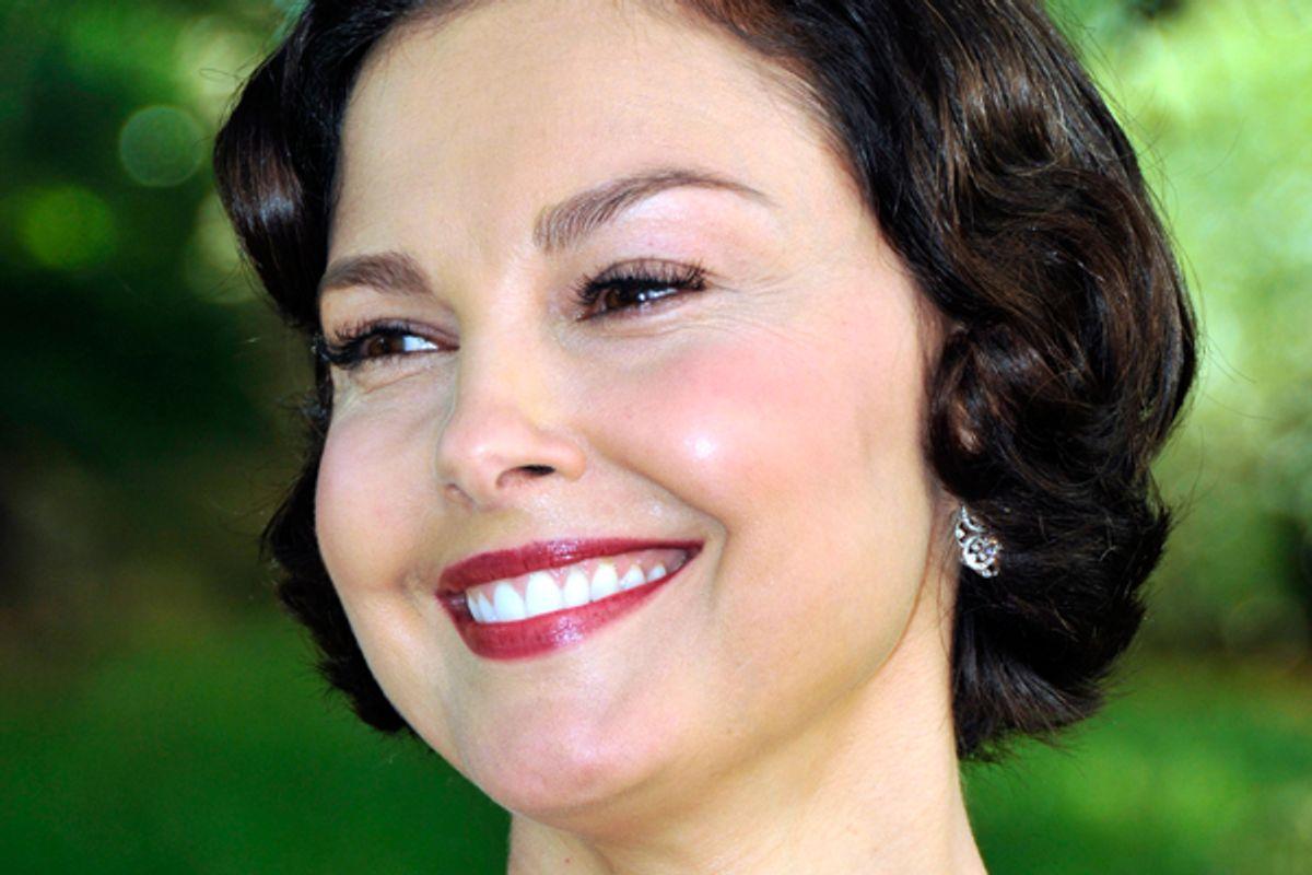 Ashley Judd      (Reuters/Jean Amet)