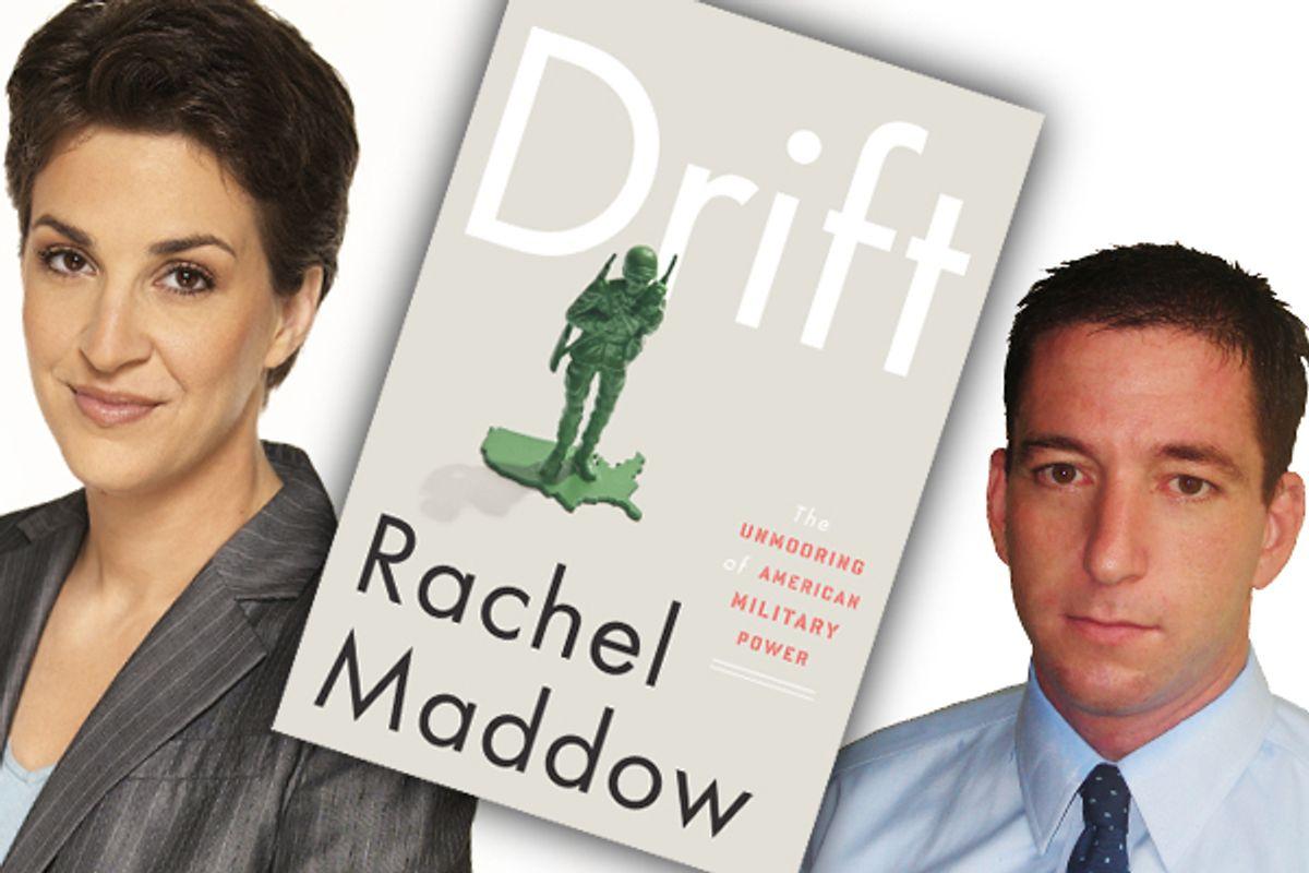Rachel Maddow and Glenn Greenwald