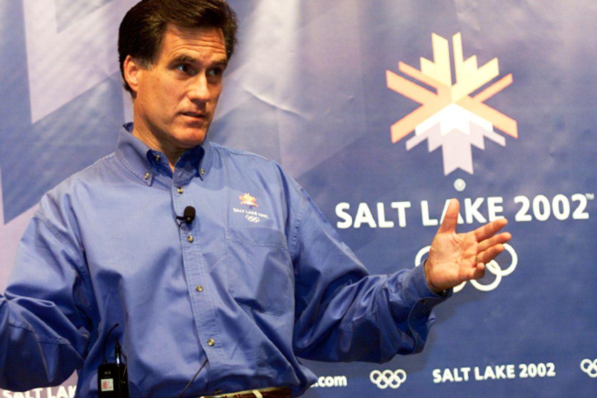 Mitt Romney in 2000.  (Reuters/Andrew Wong)
