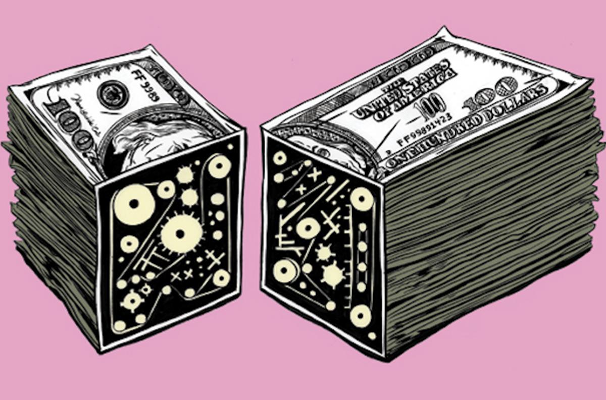 Illustration for Bloomberg View, 2011 (art director: Vance Wellenstein)         (Kelsey Dake)